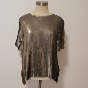 Chan Luu Sequin shirt